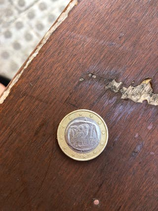 Moneda euro buho griega