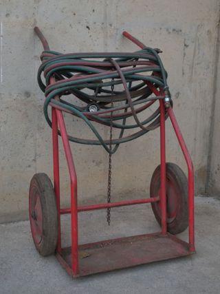 Carro soldar + bufador