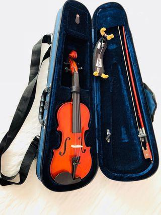 VIOLÍN CON 1 SOLO DÍA DE USO( primo violín 1/4 )