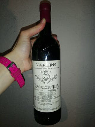 botella vino vega sicilia