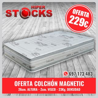 OFERTA COLCHÓN MAGNETIC