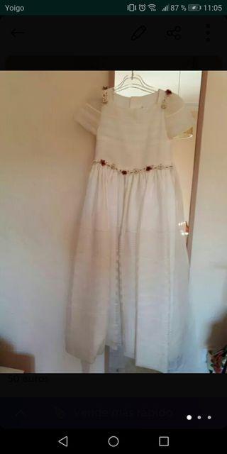 Vestido de comunión + accesorios