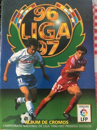 Album cromos de futbol - Liga 1996-97