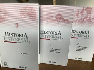 3 libros Historia