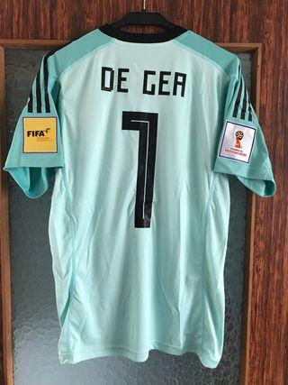 Camiseta selección española de gea talla m