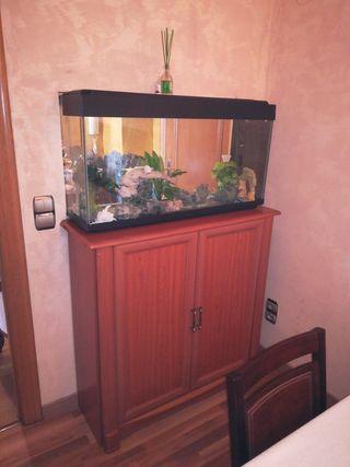 aquarium con mueble