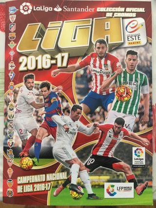 Album cromos de futbol - Liga 2016-17