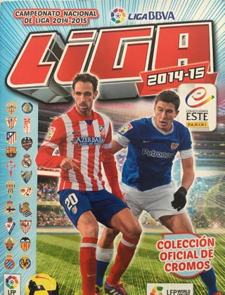 Album cromos de fútbol - Liga 2014-15