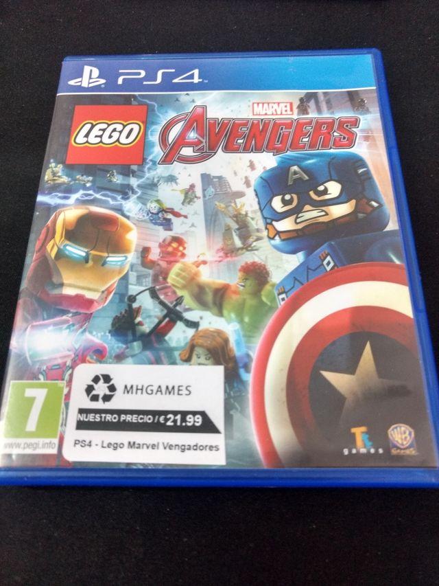 Juego Ps4 Lego Marvel Vengadores De Segunda Mano Por 21 99 En