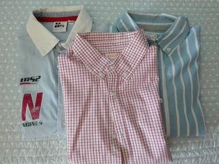 Lote 3 camisas m/l niño