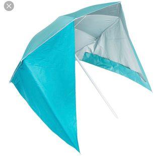 Sombrilla de playa rompe viento!!