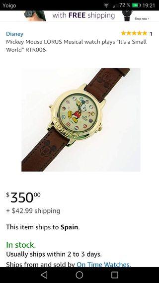 Reloj Lorus Quartz