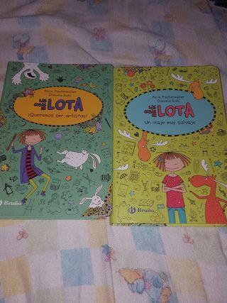 """Libros """"Las cosas de Lota"""""""
