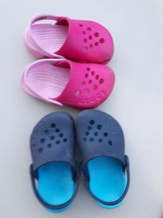 sandalias crocks niños