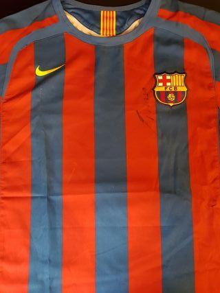 Camiseta Fc Barcelona firmada por Iniesta