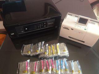 Impresora Epson Wifi + impresora fotos