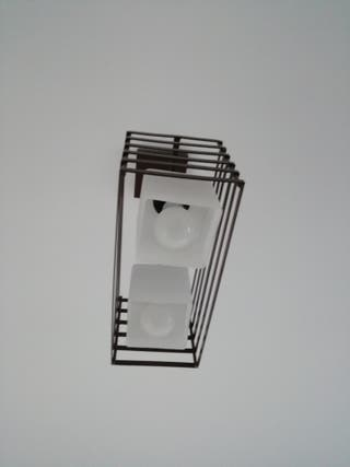 2 lamparas extensibles con bombillas led