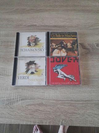 cds música clásica y uno de Dover