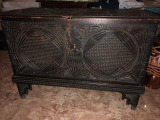Arca Baul Antiguedades Vintage