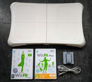 Tabla Wii + 2 juegos + batería recargable
