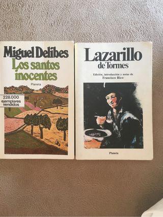 Los santos inocentes. Lazarillo de Tormes