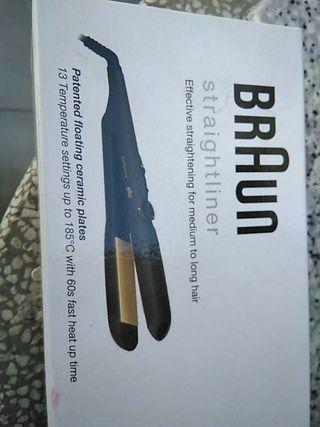 Plancha pelo Braun CASI SIN USAR