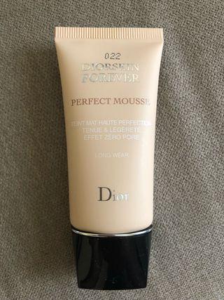 Maquillaje cero poros Dior