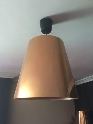 Lámpara cobre Ikea 20 color de por mano pantalla segunda 5cTFuJ31lK