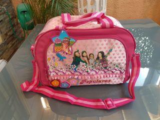 Bolso Infantil Patito Feo. Mochila Disney Channel.