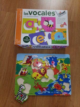 puzzles aprendizaje