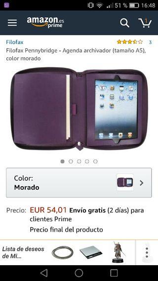 Funda tablet ipad 90% de descuento