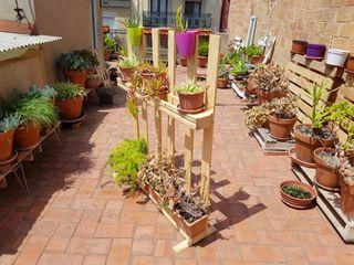 palet jardinera divisoria mampara 1,08mx1.30m. Aca