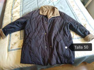abrigo reversible