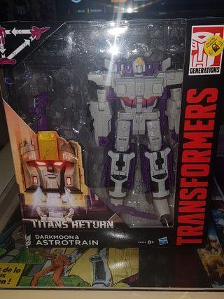 transformer titans return Astro train