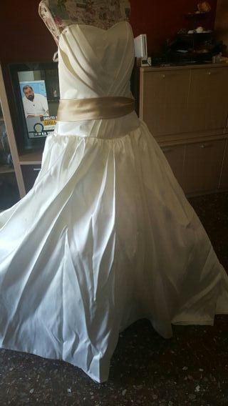 traje de novia corto de segunda mano en valencia en wallapop