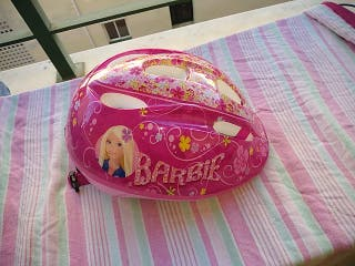 casco Barbie bici XS