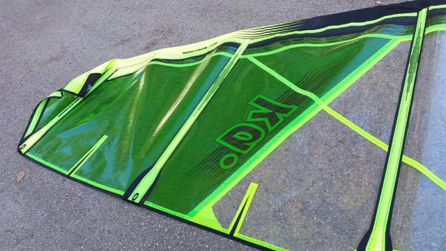 Vendo vela windsurf 4.7 Ka Kriptonite 2016