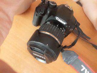 camara fotos y video canon 550d + tele + 50mm