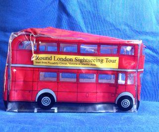 Estuche autobús Londres