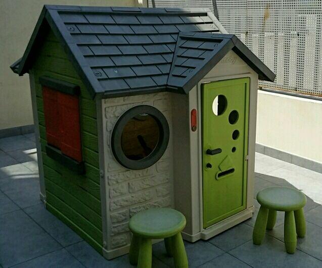 Mi Casa Smoby. Casita exterior para niños 2-6 años