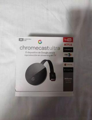 Google ChromeCast Ultra NUEVO