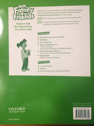 Family and Friends Workbook 3 SIN ESTRENAR