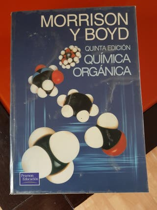 Morrison y Boid química orgánica