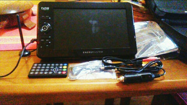 televisión portátil energy system
