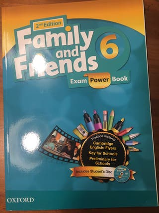 Family And Friends 6 Exam Power Book