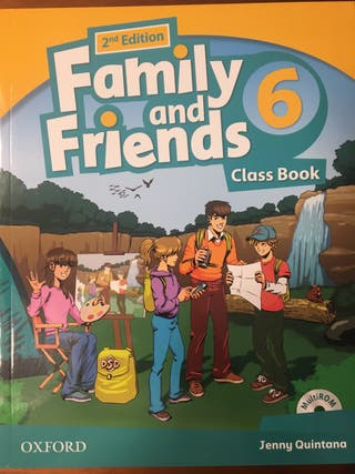 Family and Friends Class Book 6 SIN ESTRENAR.