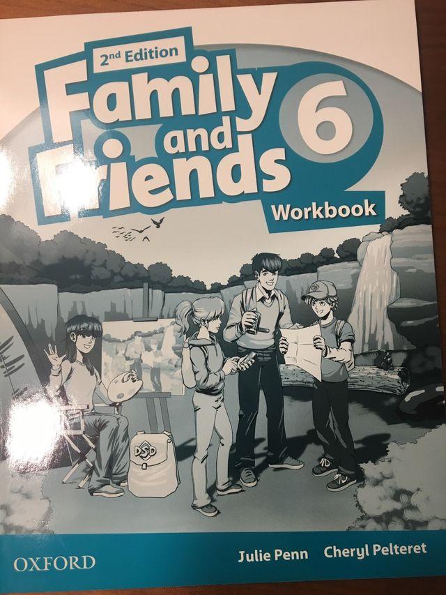 Family and Friends Worbook 6 SIN ESTRENAR