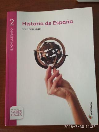Libro de Historia 2 Bachiller