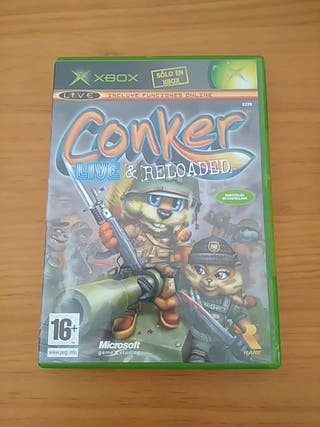 XBOX CONKER LIVE & RELOADED