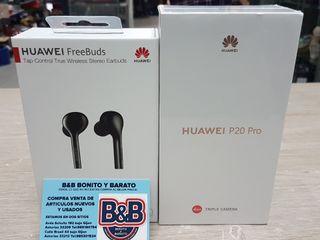 huawei p20 pro + freebuds precintado.